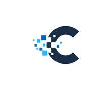 Letter C Pixel