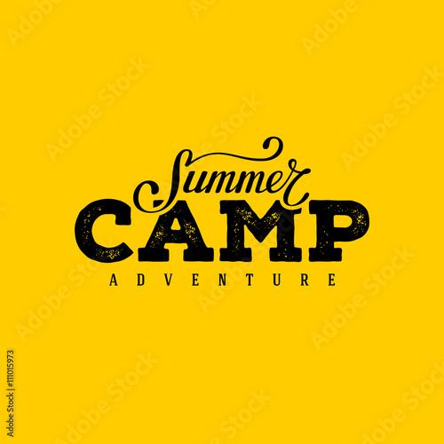 Fotografía  Summer camp yellow