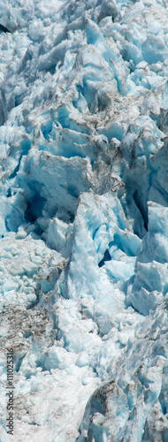 Foto op Canvas Gletsjers Dirty Glacier Ice Field