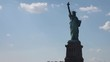 Panoramica della Statua della Libertà a New York City, NY, USA