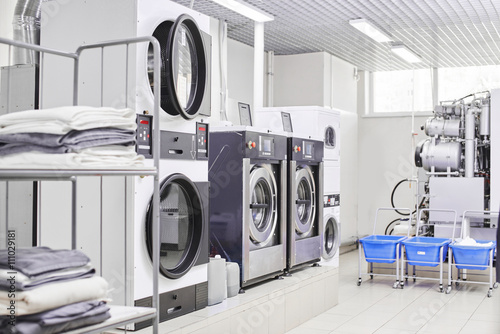 Fotografie, Obraz  Washing machine in dry cleaning