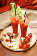 decorated bloody Mary