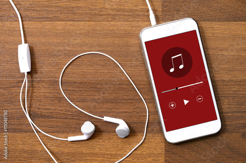 Music play application on smart phone - 111048780