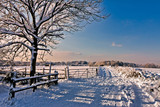 Winter scene in East Grinstead