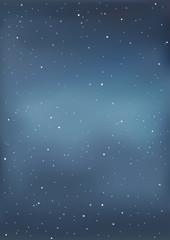 Fototapeta Vector illustration of a starry sky.