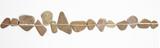 Fototapeta Kamienie - Linie auf Steinen als Symbol für Zen