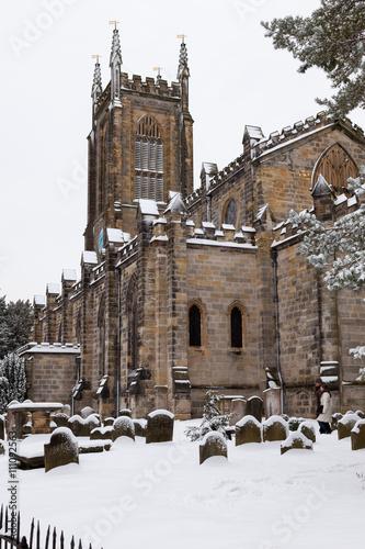 Fotografie, Obraz  St Swithun kostel v East Grinstead