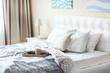 Bright stylish bedroom