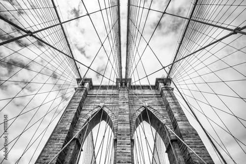 Poster Brooklyn Bridge Brooklyn bridge in NYC, USA