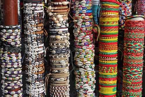 Fotografie, Obraz  Náramky Fantaisie au marché