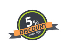 5% Discount Special Offer