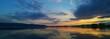 Sunset Radolfzell Panorama