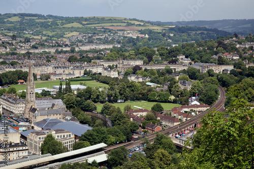 Foto op Aluminium City of Bath skyline