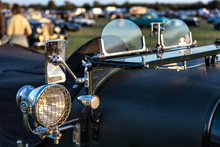 Close-Up Of A Vintage Bentley ...