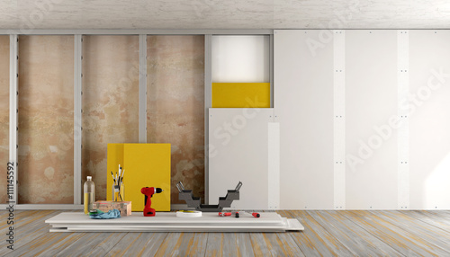 Fotografie, Obraz  Home renovation of an old room
