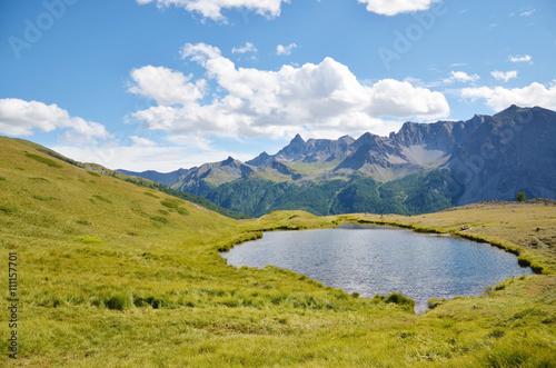 Fotografia, Obraz  Lac Gignoux (Cervières / Hautes-Alpes)