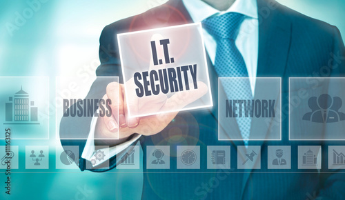 IT Security Concept Fototapeta