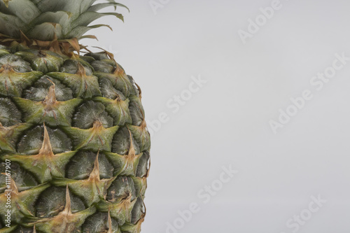 Fototapety, obrazy: pineapple with pineapple juice