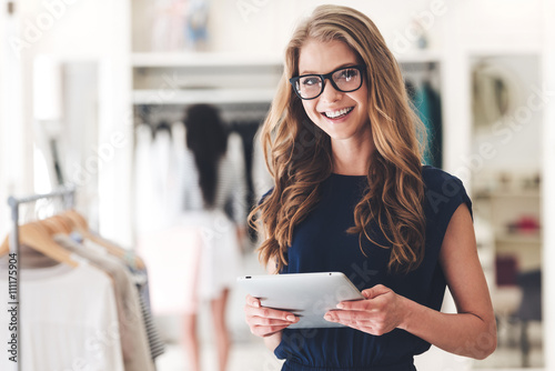 Fotografía  Modern businesswoman.
