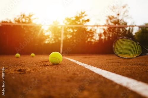 Tennis court Tableau sur Toile