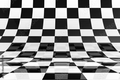 Fototapeta kratka  chessboard-background