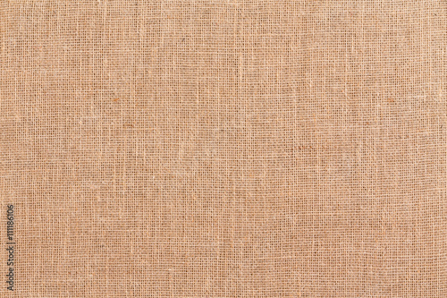 Burlap or hessian textile background texture