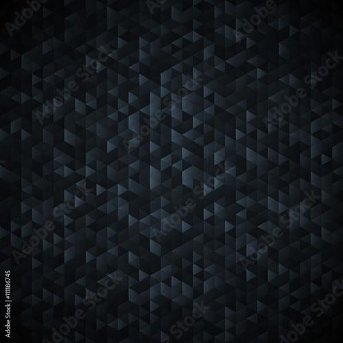 Photo Dark gaphite graglittering lamina sequins mosaic pattern.