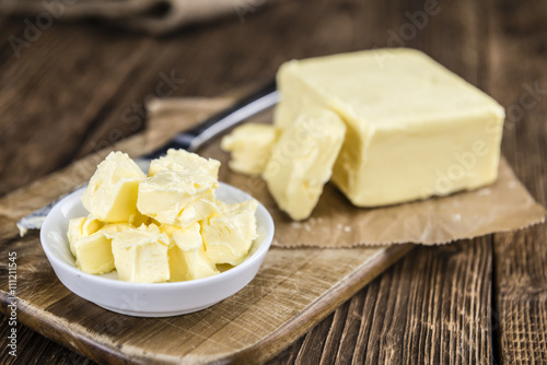 Butter (selective focus) Canvas Print