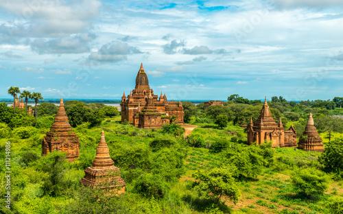 Photo  Bagan temples, Myanmar