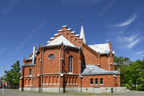 Kristinestad church (1897), Finland Canvas-taulu