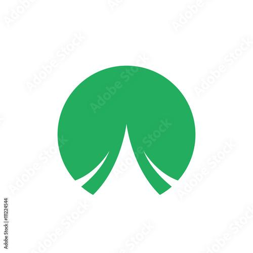 Fototapeta circle logo icon Vector obraz na płótnie