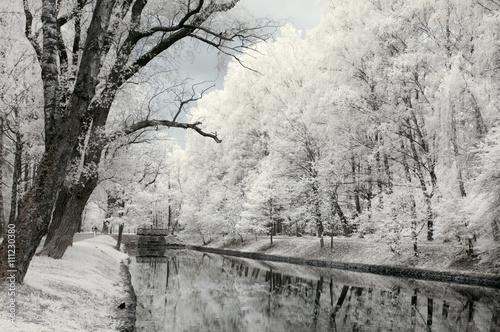 Valokuva Infrared landscape