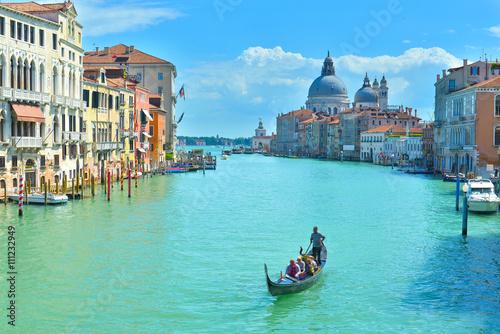 Stickers pour porte Venise Venice