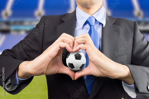 Love for the football