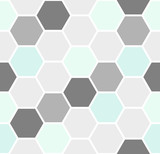 Hexagon Seamless Pattern - 111252962