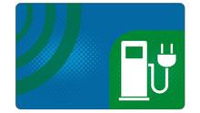 Cc0 ChargeCard - Tankkarte Für Elektromobile Mit Ladestation-Symbol - Blanko Vorlage - G4353