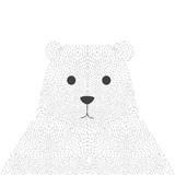 Polar bear face - 111262774