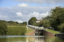 The Kennet And Avon Canal Lock Gates, UK