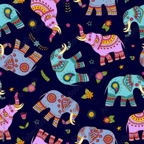 bezszwowy-wzor-z-doodle-sloniami