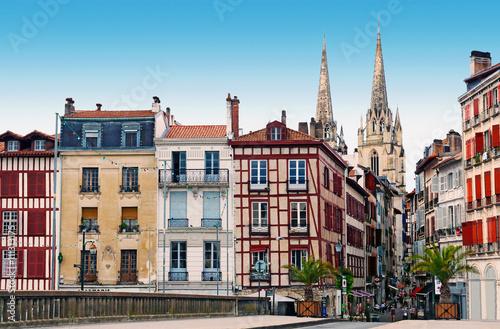 Fotografia, Obraz  Maisons anciennes de Bayonne