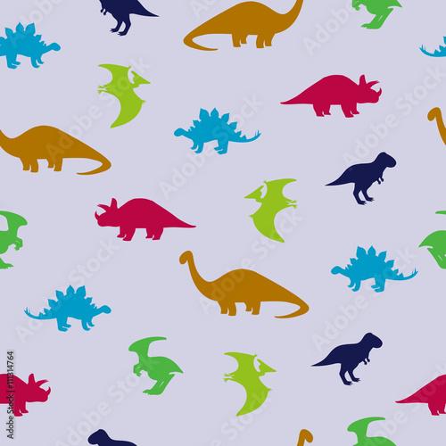 ladny-wzor-dinozaurow-tlo-z-sylwetkami-dinozaurow