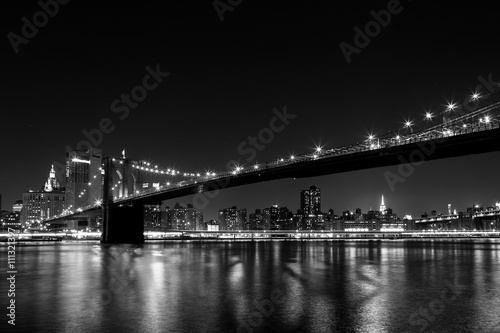 Booklyn Bridge at night