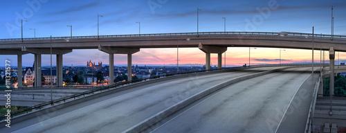 Fotografía  Stadt Autobahn 3D Render und Foto