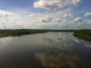 Fototapeta Rzeka i Jezioro река
