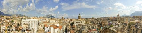 Foto op Aluminium Palermo foto panoramica della città di Palermo