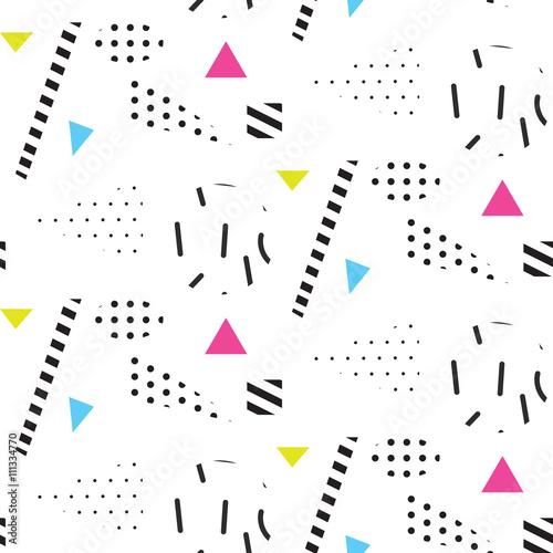 wzor-retro-memphis-retro-lat-80-linie-w-szachownice-abstrakcyjne-ksztalty-bloki-kolorow-i-elementy-kropek-w-stylu
