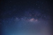 The Milky Way ,Long exposure photograph