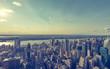 Midtown Manhattan, Blick Richtung Hudson River