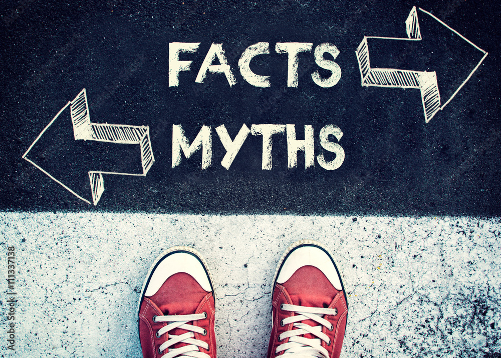 Fototapeta Facts and myths