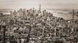 Manhattan panorama viewed from Empire State Buildig